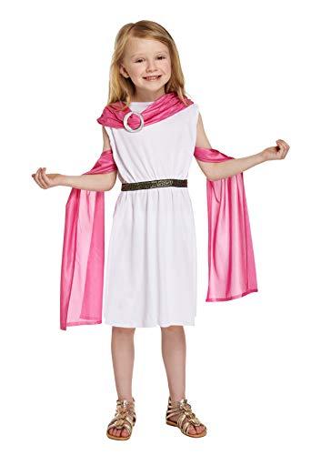 HENBRANDT Déguisement de déesse grecque pour enfant (taille M / 7-9 ans)
