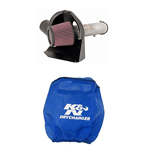 K&N 69-7061TS Performance Air Intake System with Blue Air Filter Wrap