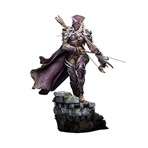 ZH World of Warcraft Figuras De Acción, 46Cm Sylvanas Windrunner Estatua De Juguete, Material De Resina Coleccionables Modelo, Coleccionables De Juguetes Clásicos Adornos Regalo