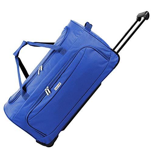 noorsk XL borsa da viaggio | travel trolley bag grande | borsone sportiva con ruote - XL - blu
