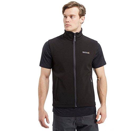 Regatta Chaleco Bradwell II Repelente al Agua y Resistente al Viento con Interior cálido Bodywarmers, Hombre, Black(Iron), L