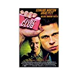 ASFDA Fight Club Filmposter, Leinwand-Kunst-Poster und