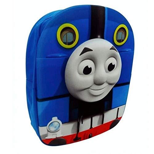 Thomas the Tank Engine Backpack Mochila infantil, 34 cm, 81 liters, Azul (Blue)