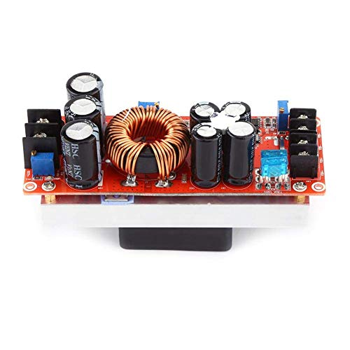 GYW-YW Module Non-isolated Boost Module, 1200W DC-DC Step-up Boost Converter Constant Current LED Driver Power Supply Module for Solar Panels Electric Equipment Laptop