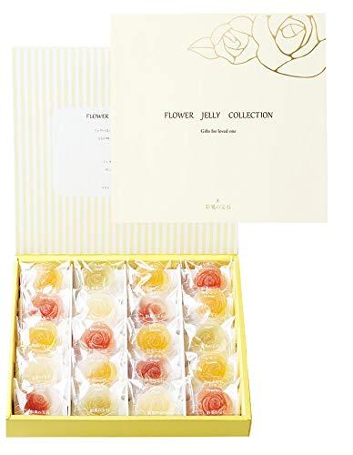 彩果の宝石 フラワーゼリーコレクション(6種類20個入り)