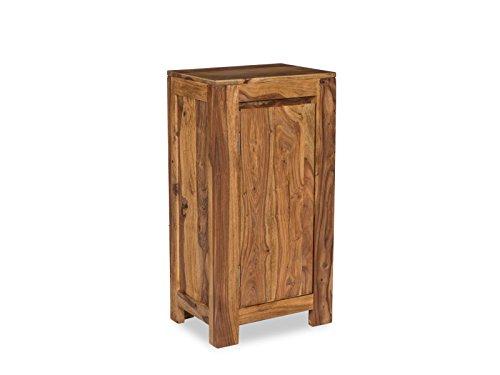 Woodkings® Unterschrank Leeston Echtholz Palisander Badunterschrank massiv Badmöbel Badezimmer Badezimmerunterschrank Badschrank Bad Unterschrank Massivholz