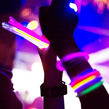 Tube of 100, Pink 8 Glow Bracelet Light Sticks
