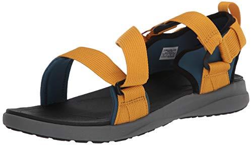 Columbia Men's Sandal, All Terrain, Velcro Straps Sport, Blue, 10 Regular US