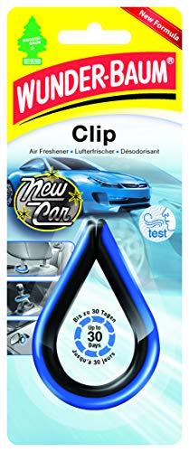 Wunder-Baum 97185 Lufterfrischer Clip New Car, Blau