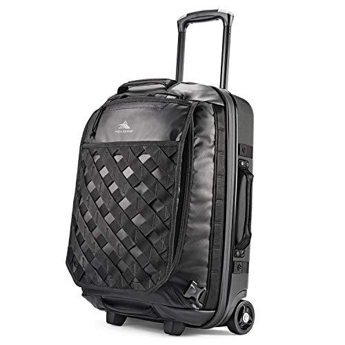High Sierra OTC Heavy Duty 40L Carry-On Wheeled Rolling Backpack for Work and Travel Small 22-inches