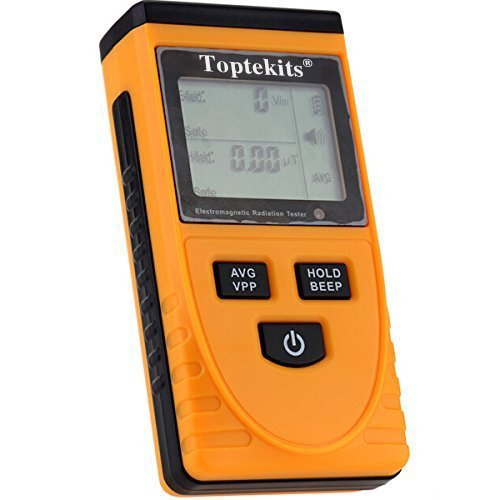 Tekit GM3120 LCD Display Electromagnetic Radiation Detector EMF Meter Tester the detection of the electric field, magnetic field