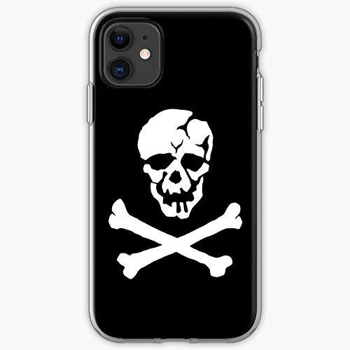 Robotech Vf Veritech Valkyrie 1F Macross Roy Pirate Skull Focker - Phone Case for All of iPhone 12, iPhone 11, iPhone 11 Pro, iPhone XR, iPhone 7/8 / SE 2020… Samsung Galaxy