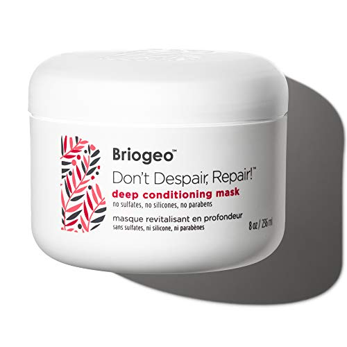 Zagg HS-3032 Briogeo-Don't Despair, Repair Deep Conditioning Mask, Intense Hydration for Those with Dry, Damaged, Chemically Treated and/or Lifeless Hair, 8 oz, 18/8 Edelstahl