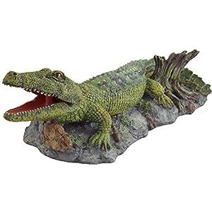 Supa Air Operated Bubbler Crocodile Aquarium Or Fish Tank Ornament, Helps To Aerate Your Aquarium, Highly De...