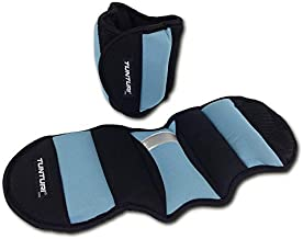 Tunturi Nylon Enkelpols Gewichten - Zwart/Blauw, 0,75 Kg