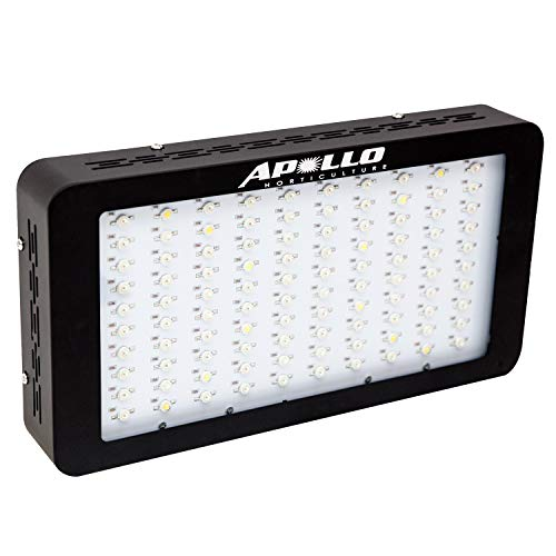 Apollo Horticulture GL100X3 Full Spectrum 300W LED Grow Light for Indoor Plant Growing