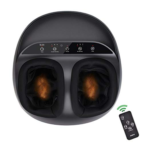 RENPHO Foot Massager Machine with Heat, Shiatsu Deep...