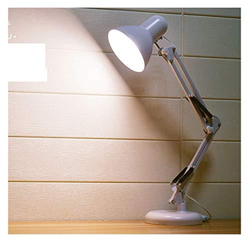 LJ Lámpara de Mesa/Lámpara de Mesita Plug-In Lámpara de Escritorio Led Protección para Los Ojos Escritorio de Tifón Estudiantes Universitarios Simple Dormitorio Moderno Clip de Dormitorio Junto a l