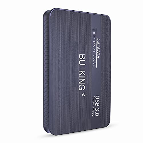 BU KING Mirco USB 3.0 Disco rigido esterno Disco rigido esterno da 250 GB Dispositivo di archiviazione USB PS4, TV Box Memoria flash desktop-Viola