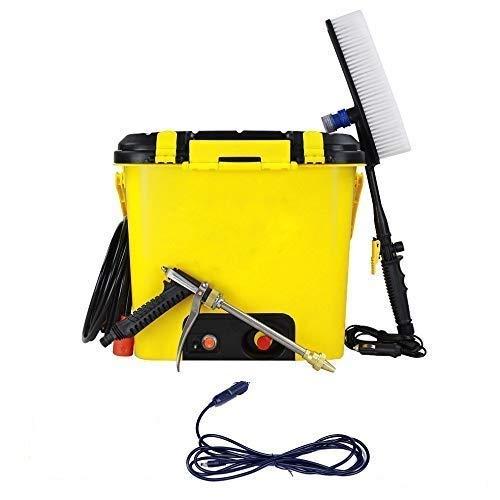 SOFLIN® Portable High Pressure 16 LTR Car, Bike, Home, Garage, Water Flowers, Wash Doors and Windows, Clean Floors Washer Machine