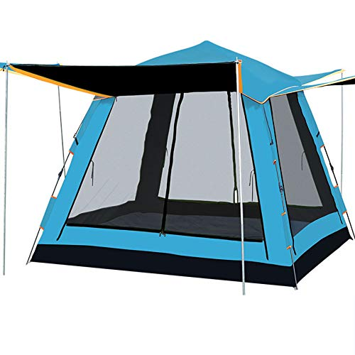 Ziyi Blow Up Tent,camping Tent,Outdoor Full-shading Waterproof Tent,blocking Ultraviolet Rays,vinyl Sun Protection,large Space,three-dimensional Ventilation,four-door Mesh