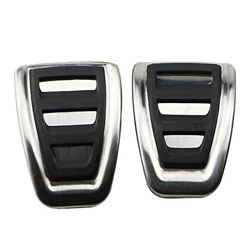 SHANGSHANG Zfuxiang STOR Pedales for automóviles Fit for Audi A4 B8 A6 A7 A8 S4 RS4, A5 S5 RS5 8T Q5 SQ5 8R Freno de Combustible Freno de reposapiés Pedal de Pedal Accesorios Automóviles