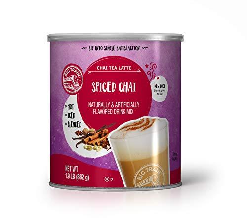 Big Train Spiced Chai Tea Latte Instant Powdered Mix, 1.9 Pound