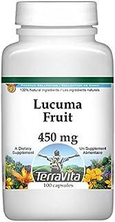 Lucuma Fruit - 450 mg (100 Capsules, ZIN: 520722)