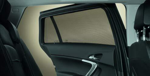 Opel Set 2 Scheibengardinen Fensterschutz hinten Mokka E Mokka X ORIGINAL 95515380