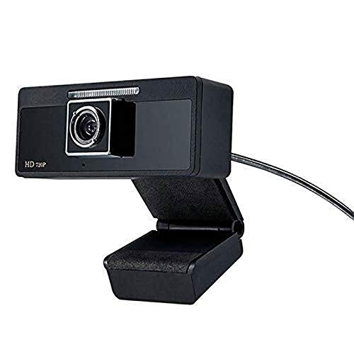 Haoooan HD 720P del USB del ordenador portátil PC Video Conferencia Webcam, Manual Focusin y Built-in de reducción de ruido del micrófono, Plug and Play Video Computer Calling Webcam Conveniente for e