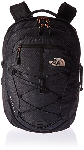 The North Face Women's Borealis, Zaino Donna, TNF Black Heather (Std)/Rose Gold, Taglia Unica