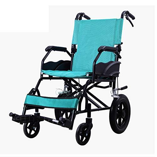 Wheelchair Selbstfahrender Schmaler Rollstuhl, Faltrollstuhl, Selbstfahren, Leichter Und Faltbarer Rahmen, Aluminiumrollstuhl, Tragbarer Transitreisestuhl