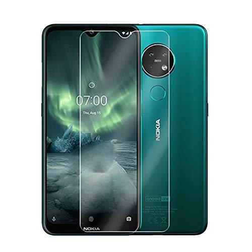 Pkila Panzerglas Schutzfolie für Nokia 2.3 Bildschirmschutzfolie aus gehärtetem Glas mit Nokia 2.3 Glass Film [9-H-Festigkeit] [Kristallklarheit] [Kratzfest] [No-Bubble]