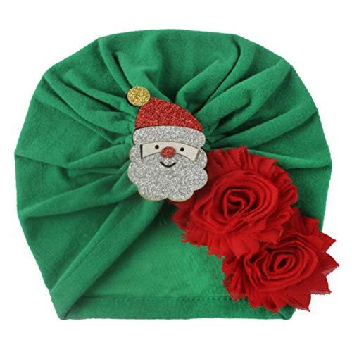 Beeria Bonnet de Noël pour enfant vert 5 green