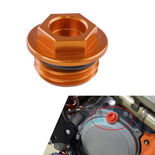 Oil Filler Cap Plug For KTM 540 550 620 640 Adventure/Duke/Enduro/SM 690 990 DUKE/R ENDURO/SMC/SM 1290 (Orange)