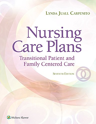 41mximEBh4L - Nursing Care Plans: Transitional Patient & Family Centered Care (Nursing Care Plans and Documentatio