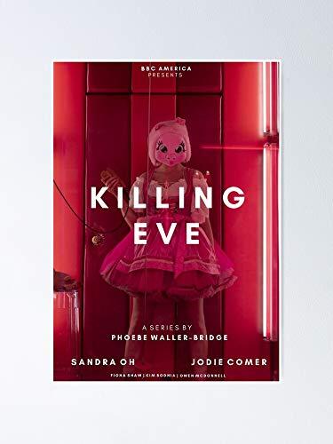Póster de Killing Eve Alternativa para decoración de oficina, colegios de Dorm, Teachers, Classroom, Gym Workout and School Halloween, Holiday, Christmas Party