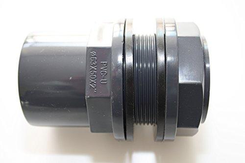 PVC-U Durchführung 50mm 63 x 50 x 2