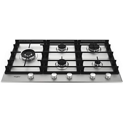 Whirlpool GMW 9552/IXL 5 Plaques de cuisson à gaz en acier inoxydable