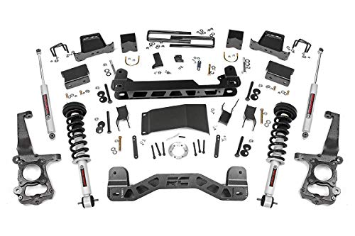 Rough Country 6' Lift Kit (fits) 2015-2020 F150 4WD   N3 Loaded Struts Shocks  ...