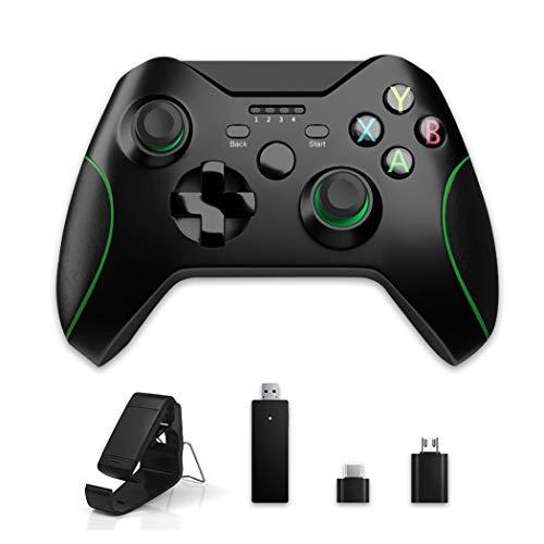 Dr.Lefran 2.4g Wireless Game Controller für Xbox One, Vibration Joystick für Xbox One Controller für PS3 / Android Smartphone Gamepad für PC 08.07.10