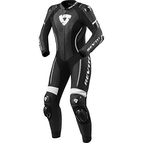 Revit Xena 3 1-Teiler Damen Motorrad Lederkombi Schwarz/Weiß 38