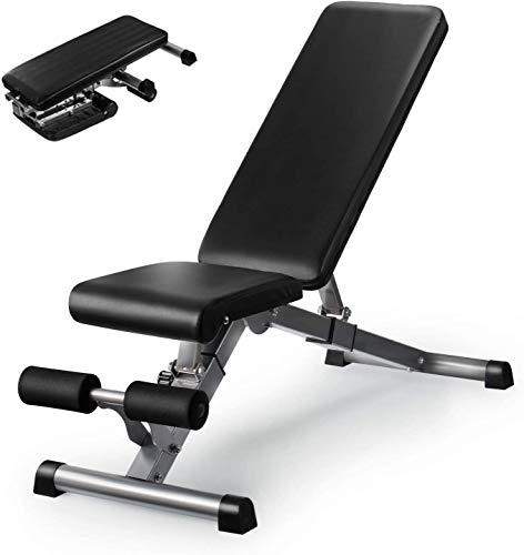 Verstellbare Hantelbank, Kitopa Utility Workout Bank für das Krafttraining zu Hause, Gym Incline Decline Bank für Ganzkörperübungen