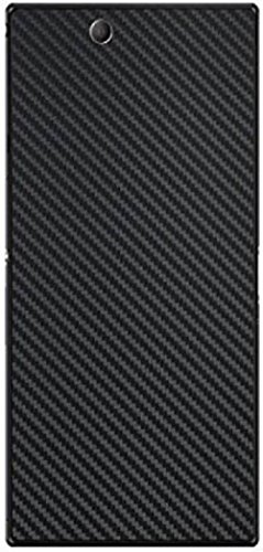 VCAREGADGETS Compatible with Sony Xperia Z Ultra Skin Carbon Black