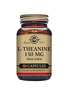 Solgar L-Theanine 150 mg Vegetable Capsules - Pack of 60