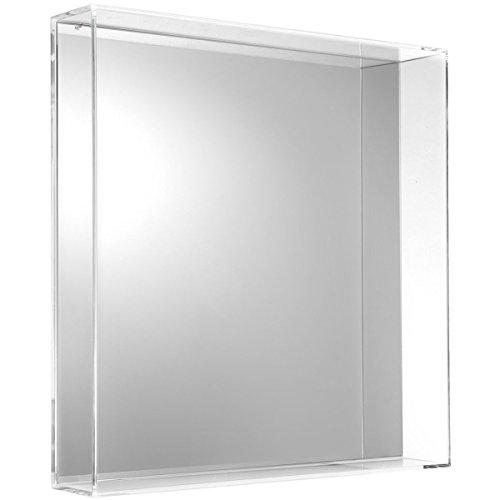 Kartell 8340B4, Specchio Only Me, Colore: trasparente