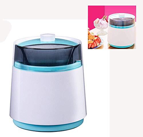 Eiscreme-Maschine, 800ml Mini Frozen Yogurt Maschine Obst Eis-Maschine Doppelte Isolierung Barrel, Home Küchengeräte kshu