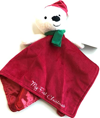 Baby Starter Snuggle Buddy Christmas Bear by Rashti and Rashti