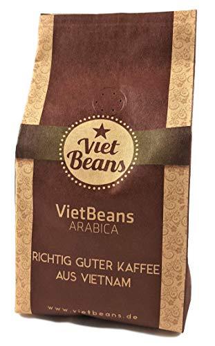 VietBeans 100% Arabica – Gemahlener Röstkaffee - Exklusiver Hochlandkaffee - 250g
