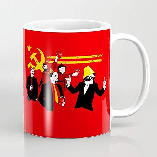 ZIQIZIYU El Partido Comunista (Original) 324 ML Taza